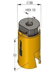 38 mm Multi Purpose ProFit gatzaag