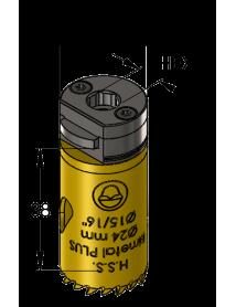 24 mm BiMetal PLUS ProFit gatzaag (var. tand)