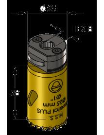 25 mm BiMetal PLUS ProFit gatzaag (var. tand)