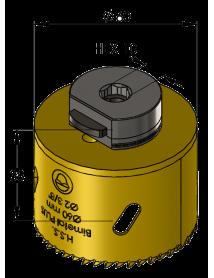 60 mm BiMetal PLUS ProFit gatzaag (var. tand)