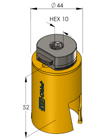 44 mm Multi Purpose ProFit gatzaag