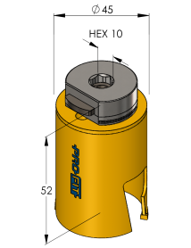 45 mm Multi Purpose ProFit gatzaag