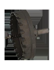 100 mm HM Standaard ProFit Gatfrees