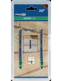 301 Hout 75x7,5x1,5 mm Variabele tand Bi-Directioneel 2-pack Profit Decoupeerzagen