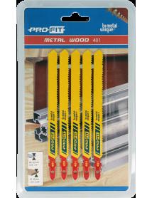 401 Multi 100x9,5x1 mm 10/14 Tpi 5-pack Profit Decoupeerzagen