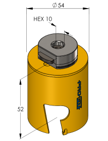 54 mm Multi Purpose ProFit gatzaag