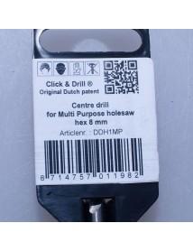 8 mm Hout Multi Purpose ProFit centreerboor voor gatzagen 16-30 mm