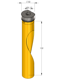 35 mm Multi Purpose Long ProFit gatzaag