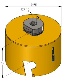 102 mm Multi Purpose ProFit gatzaag