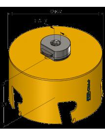 114 mm Multi Purpose ProFit gatzaag