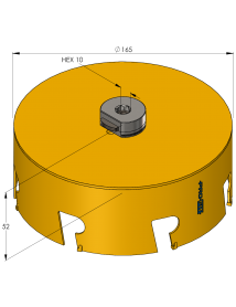 165 mm Multi Purpose ProFit gatzaag