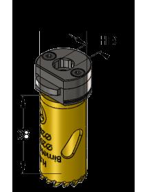 20 mm BiMetal PLUS ProFit gatzaag (reg. tand)