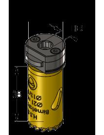 21 mm BiMetal PLUS ProFit gatzaag (reg. tand)