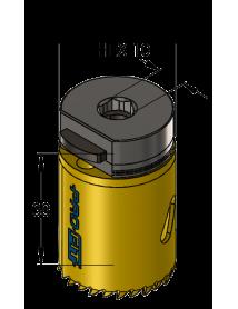 35 mm BiMetal PLUS ProFit gatzaag (reg. tand)