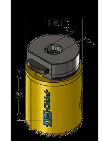 37 mm BiMetal PLUS ProFit gatzaag (reg. tand)