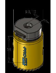 38 mm BiMetal PLUS ProFit gatzaag (reg. tand)