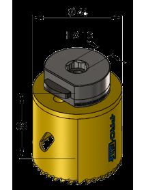 46 mm BiMetal PLUS ProFit gatzaag (reg. tand)